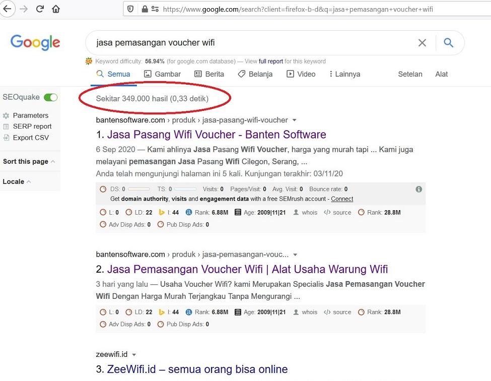 Jasa SEO Serang Semarang Bekasi Kalimantan Makassar Surabaya medan