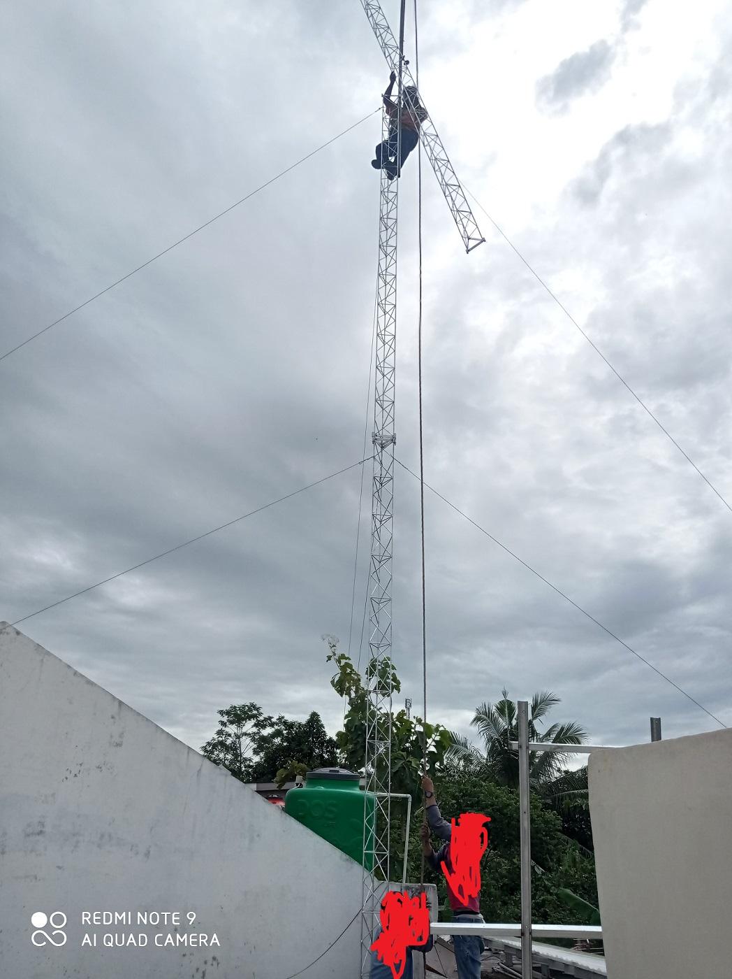Jasa Pasang Tower Triangel Murah