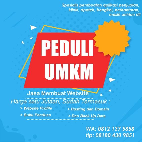 Jasa Pembuatan Website UMKM Gratis Konsultasi