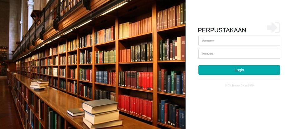 login aplikasi perpustakaan sekolah
