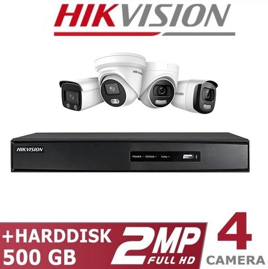 Paket Kamera CCTV HIKVISION Murah